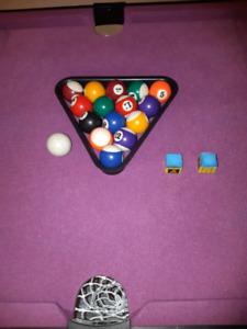 3 in 1 kids billiard table.