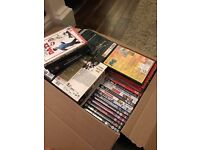 70+ dvds. As new, some brand new.