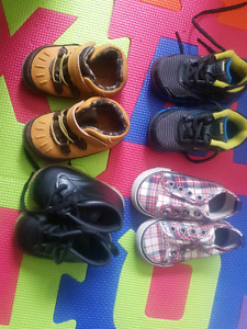 4 pairs baby boy shoes