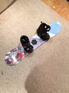 Burton Snowboard AND Boots for Child