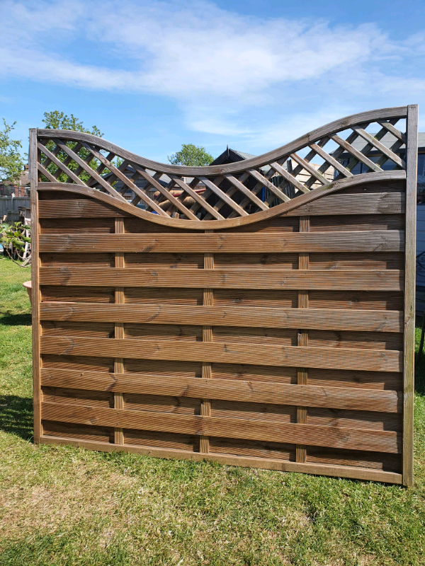 Europa Concave Prague Fence Panel By Forest Ex Display In Chelmsford Essex Gumtree