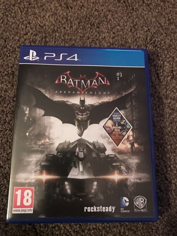 Batman - Arkham Knight PS4 game