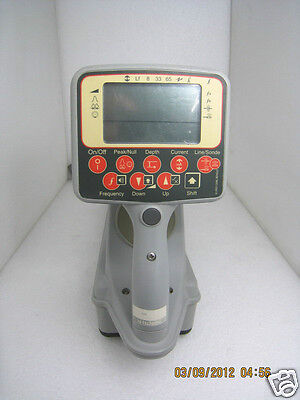 Radiodetection Pdl2 Br12 Buried Pipe And Cable Detector Receiver Pdl2-br12