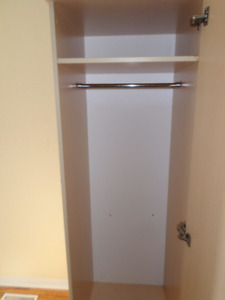 solid birch wardrobe or pantry 7 foot tall