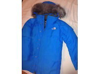 North Face Men's Parka Size Small