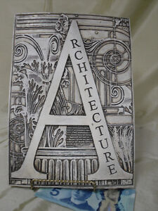 heavy Tile material ARCHITECTURE sign