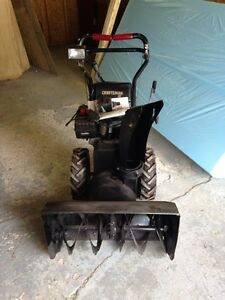 9 hp Craftsman 2 Snowblower Kawartha Lakes Peterborough Area image 1