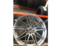 "18"" 112 pcd 5x112 Vw seat skoda audi Volkswagen alloy wheels Alloys Rims tyre tyres"