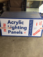 ACRYLIC LIGHTING PANELS...BRAND NEW IN BOXES