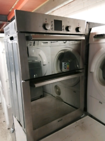 ➡️➡️SALE⬅️⬅️ STAINLESS STEEL BOSCH BUILT IN ELECTRIC DOUBLE OVEN