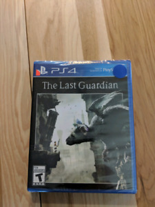 The Last Guardian PS4 neuf et emballé