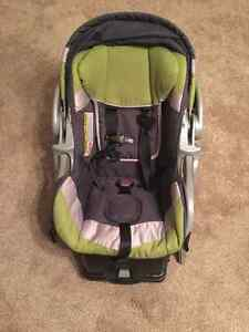 Car seat with warm blanket canopy
