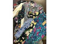 Bag of 20 vintage dresses - various sizes and styles - perfect for vintage fairs/shops