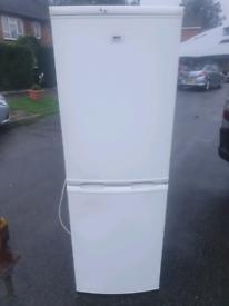 Zanussi white fridge freezer delivery available today