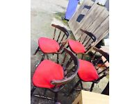 4 dinning chairs