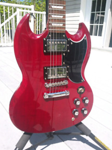 2003 Epiphone SG/G-400 (Cherry Red) Electric Guitar
