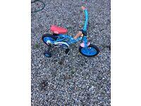 Thomas the tank engine pedal bike