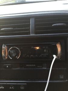 Used Car Stereo -Pioneer DEH-21001B + amp + bass speaker