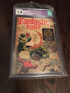 CGC Comic for sale (KEY ISSUES!) (Chad's Game Room)