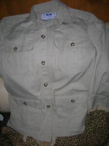 Tilley Endurables  Safari Jacket Coat Brand New Rare