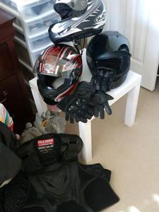 Lots biking gear