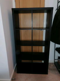KALLAX Shelving Unit (bookcase), Black, 77x147 cm