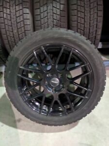 225/50/17 WINTER WHEELS AND TIRES - 5x112 - Blizzak Winters