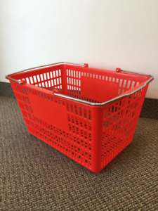New Shopping Baskets (Red) on sale