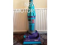 DYSON DC07 NEW MOTOR FULLY SERVICED MINT CONDITION FREE SET OF PERFUMED FILTERS BLUE AND PURPLE 2