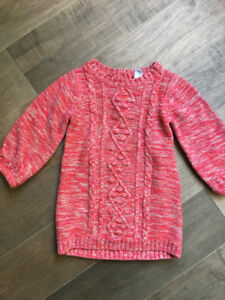 Worn once 18-24 month sweater dress Old Navy