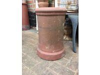 Victorian chimney pot, garden plant stand etc