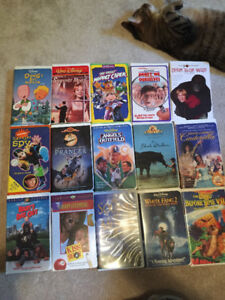Various VHS Movies/Shirley Temple