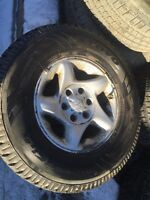 265/70R16 set of 4 winter on rims came Tacoma