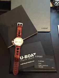 LNIB: U-Boat Flightdeck Ref. 1910 43mm Stainless Steel