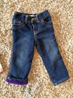 Thick winter pants size 12-18 toddler