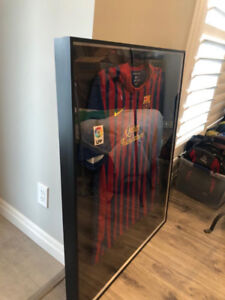 Artcare Shadowbox frame and Barcelona Jersey