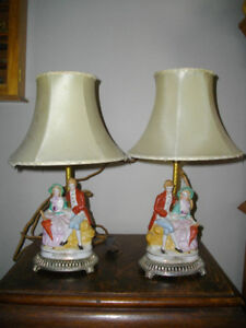 ANTIQUE & VINTAGE LAMPS FOR SALE!