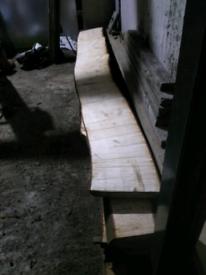 Live edge chestnut boards ( price in description)