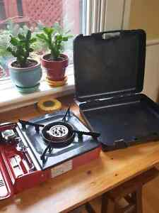 Camping single stove top