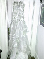 Wedding dress  for the slender  bride $300