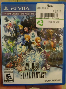 Ps Vita final fantasy world looking for...