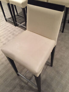 Set of 6 Counter height Chairs/Stools