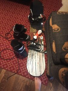 burton snowboard and boots!!!