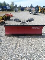 2010 BOSS SNOW PLOW 8' POLLY BLADE ONLY $4395