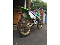 KX 250cc Motorcross bike