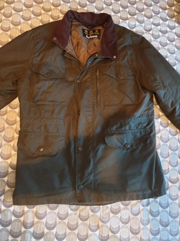 b91f4177d700d Barbour Sapper Jacket Coat Medium M Olive | in Watlington, Oxfordshire |  Gumtree