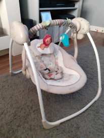 Ingenuity baby swing with sounds Rrp£79.99