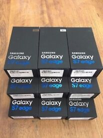 samsung galaxy s7 edge unlocked brand new sealed boxed comes with uk samsung warranty & receipt