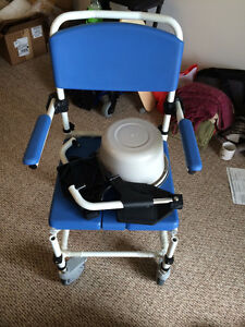 Many Health/Special needs - Transfer board, commode, Safety pole
