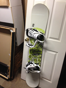 I can't wait for winter!! Forum board with Forum bindings...